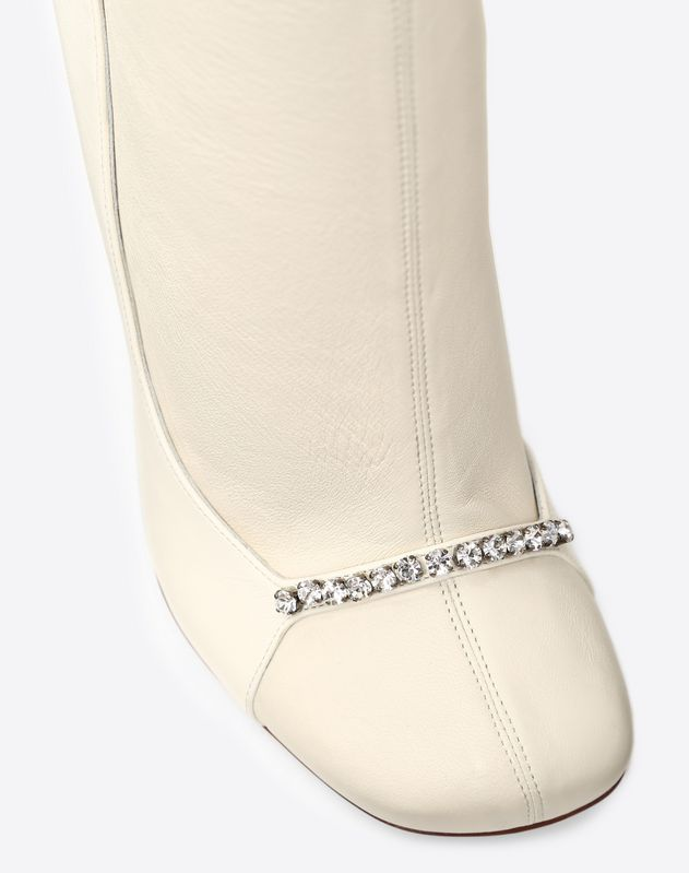 Ankle Boot with crystal detailing