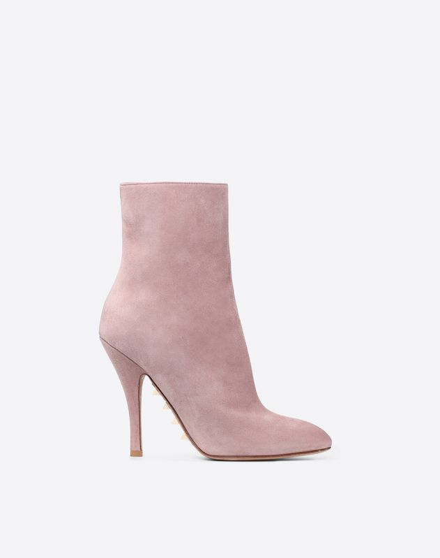 Suede Sole Spike Bootie 110mm