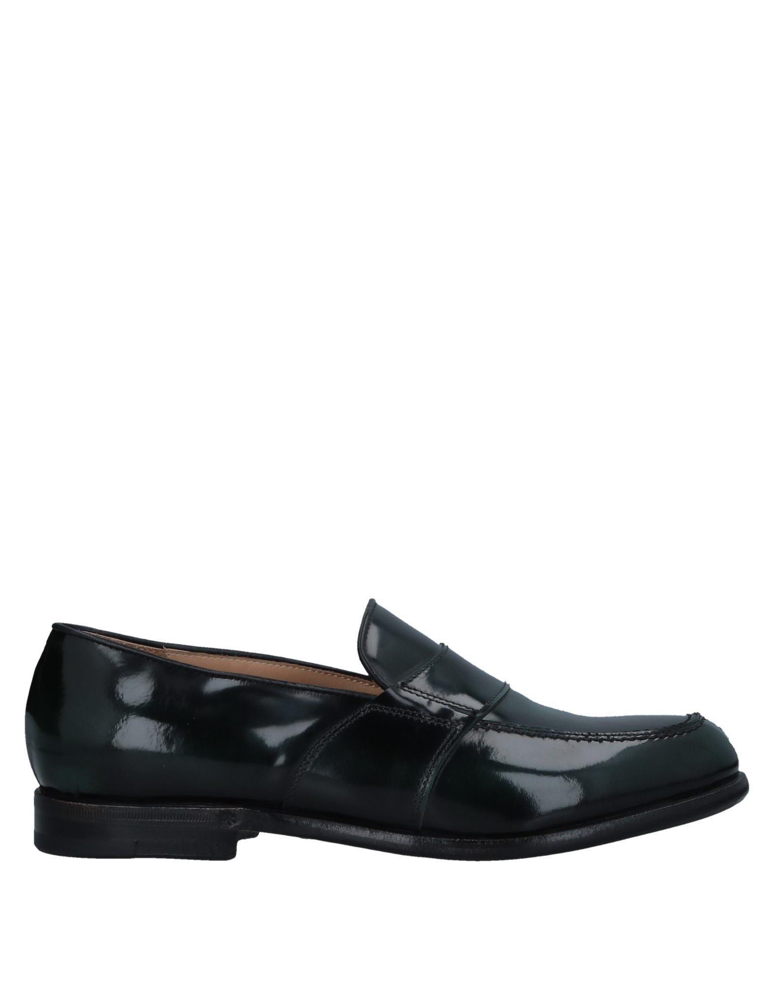 DAMY Loafers in Dark Green