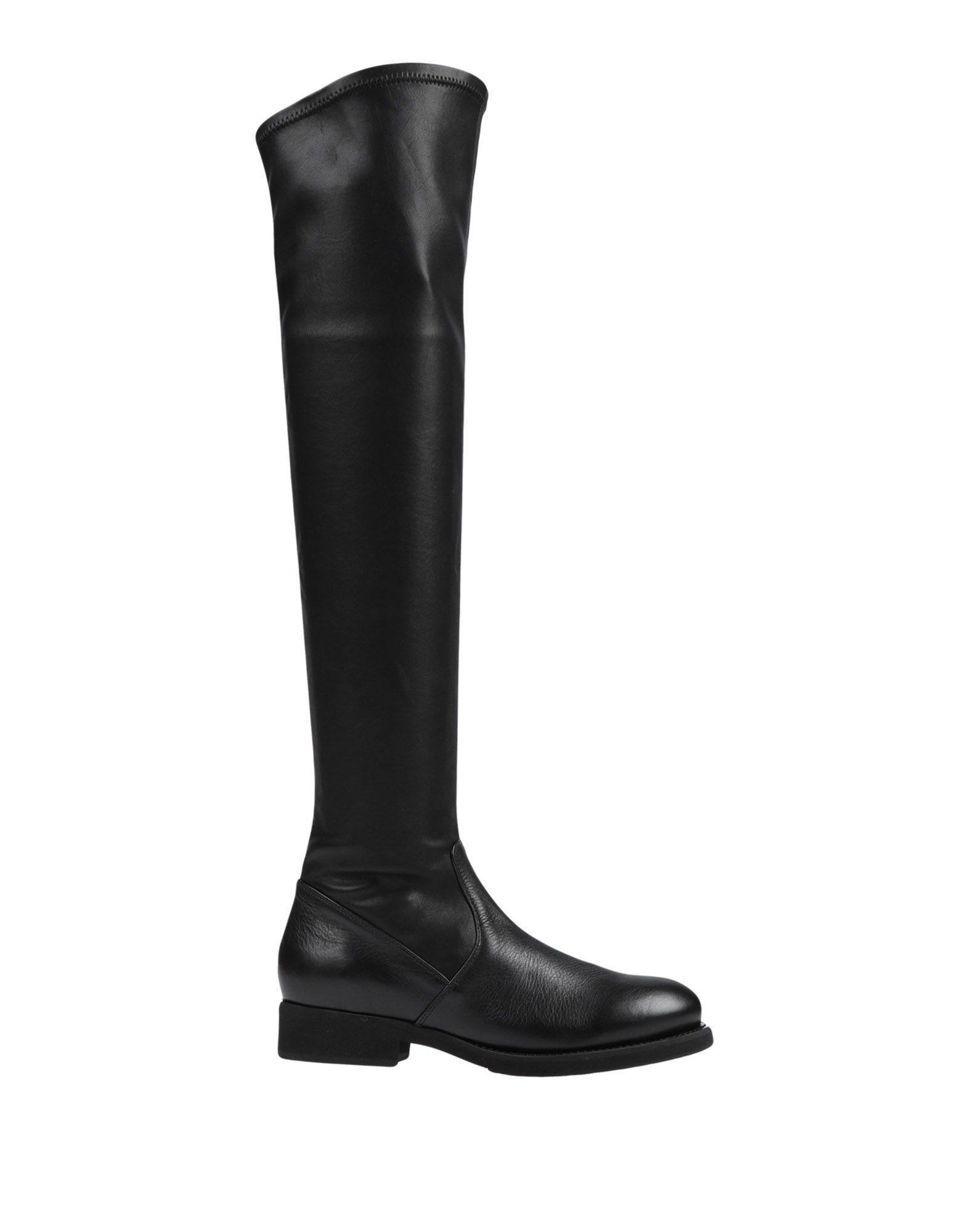FABIO RUSCONI Сапоги exull женские ботфорты сапоги вышеколена с толстым и низким каблуком