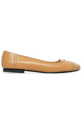 ROBERT CLERGERIE Perforated leather ballet flats