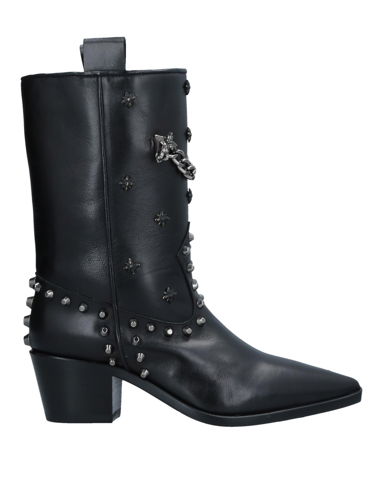 JOHN RICHMOND Полусапоги и высокие ботинки цены онлайн