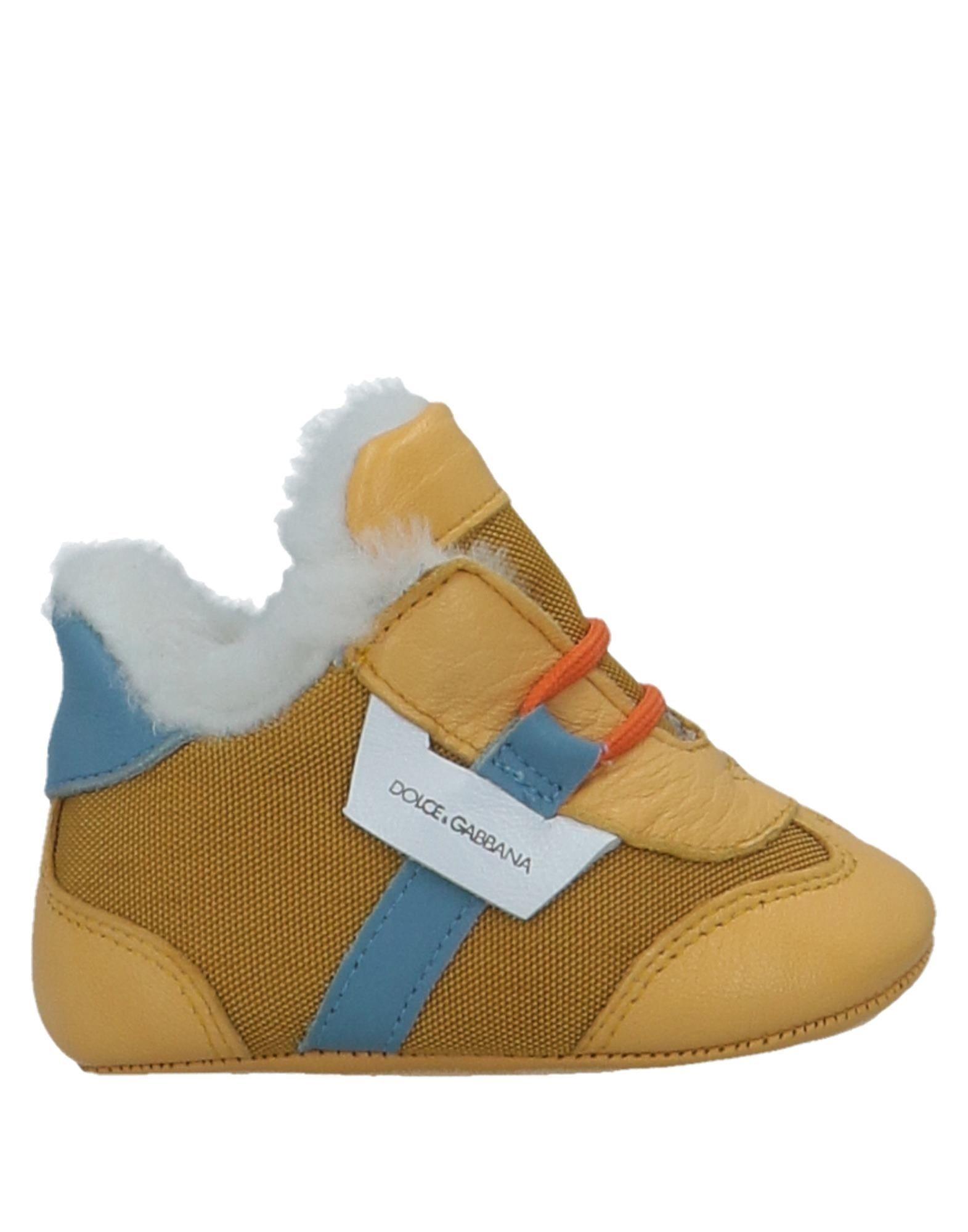 DOLCE & GABBANA Обувь для новорожденных цены онлайн