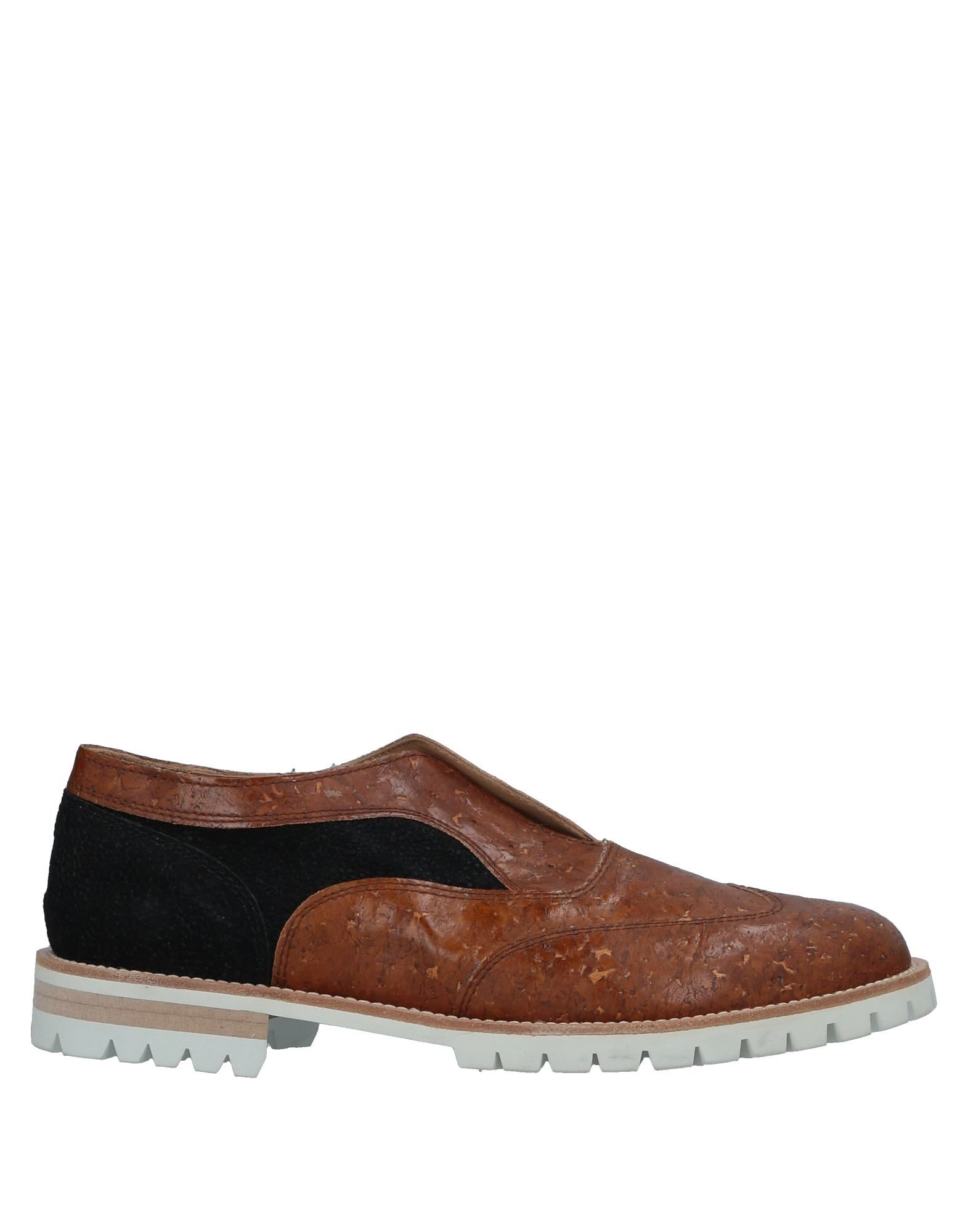 L'F SHOES Loafers in Camel