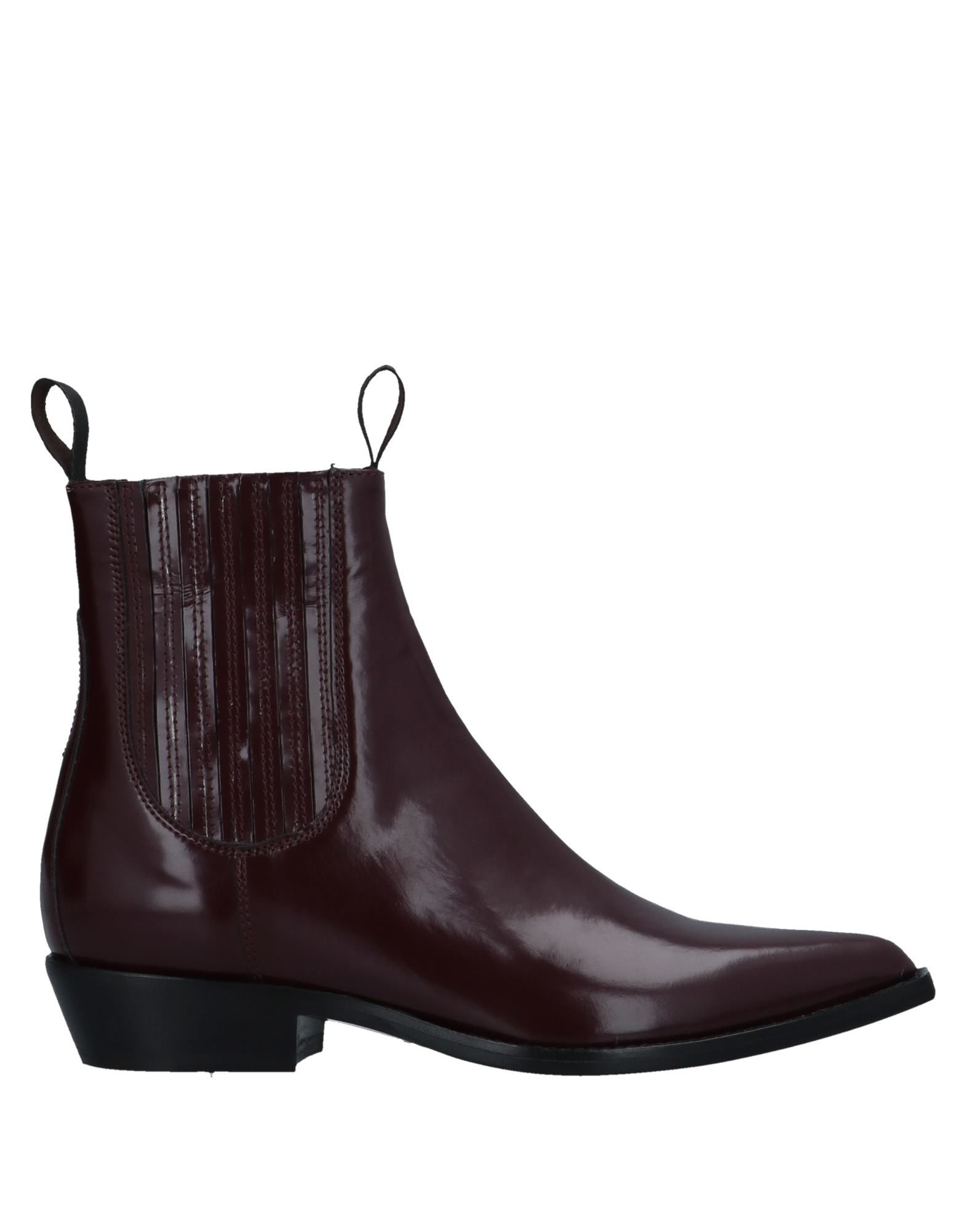 SONORA Ankle Boots in Maroon