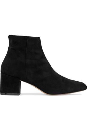 IRIS & INK Martina suede ankle boots
