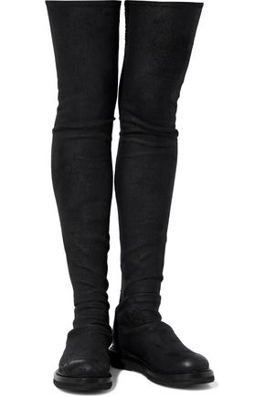 Black Boots Thigh High