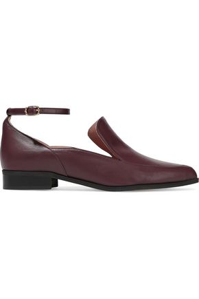 IRIS & INK Tonya leather loafers