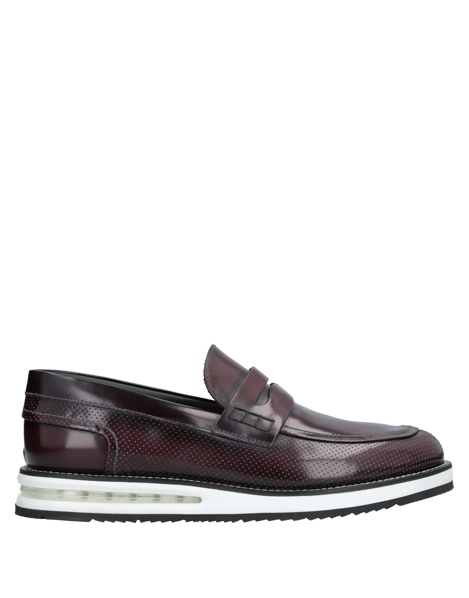 BARLEYCORN Loafers in Deep Purple