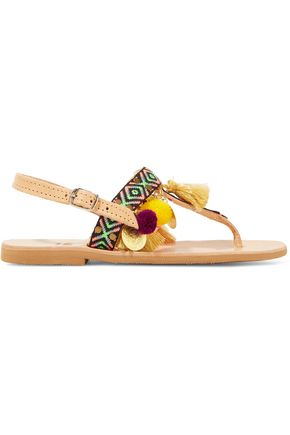 MABU by MARIA BK Aeesha embellished leather sandals