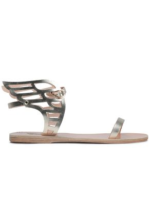 ANCIENT GREEK SANDALS Ikaria cutout leather wing sandals