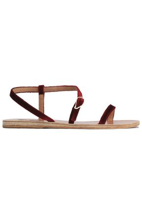 ANCIENT GREEK SANDALS Velvet sandals