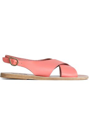 ANCIENT GREEK SANDALS Maria color-block leather slingback sandals