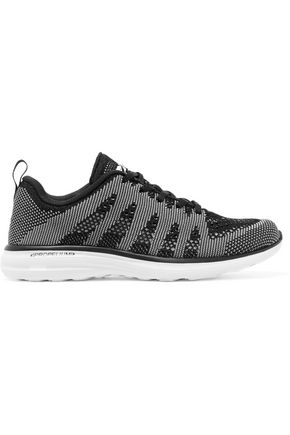 APL® ATHLETIC PROPULSION LABS Paneled stretch-knit sneakers