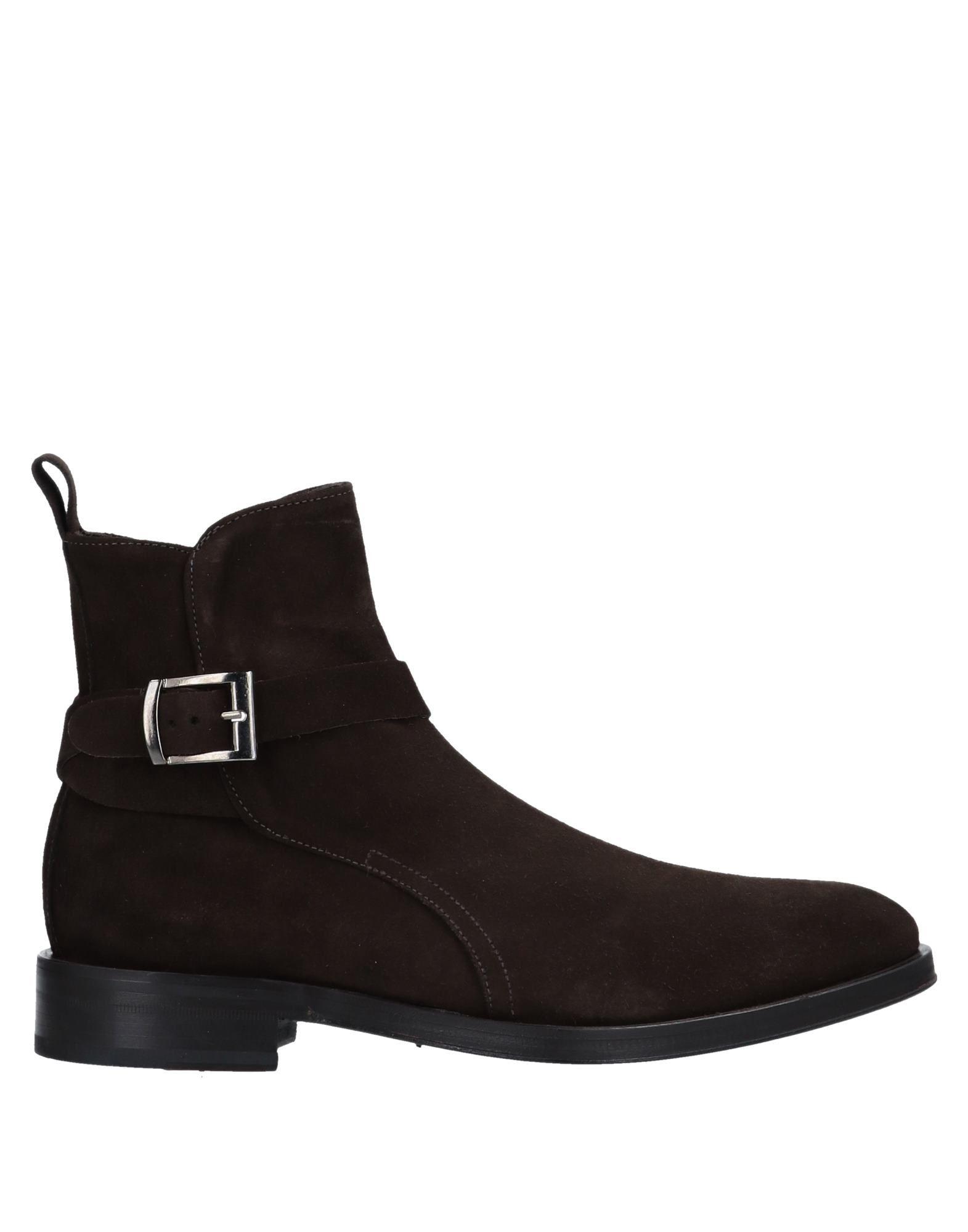 SAVIO BARBATO Boots in Dark Brown