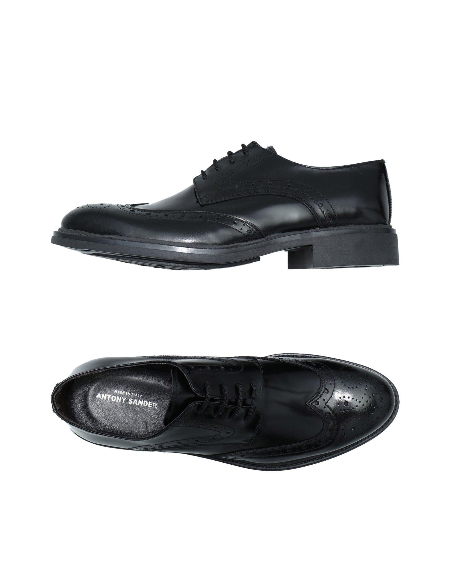 ANTONY SANDER Обувь на шнурках