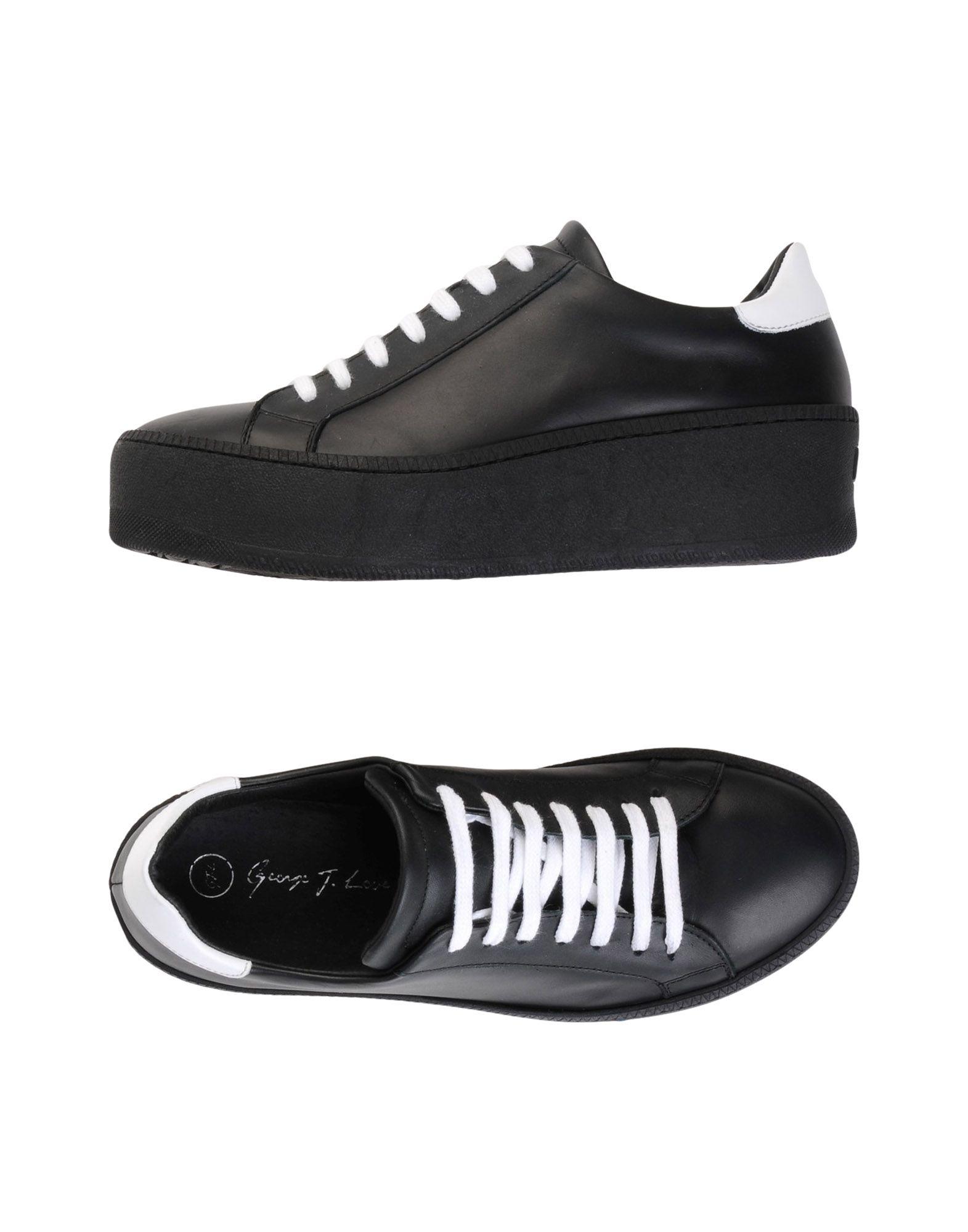 GEORGE J. LOVE Низкие кеды и кроссовки цены онлайн