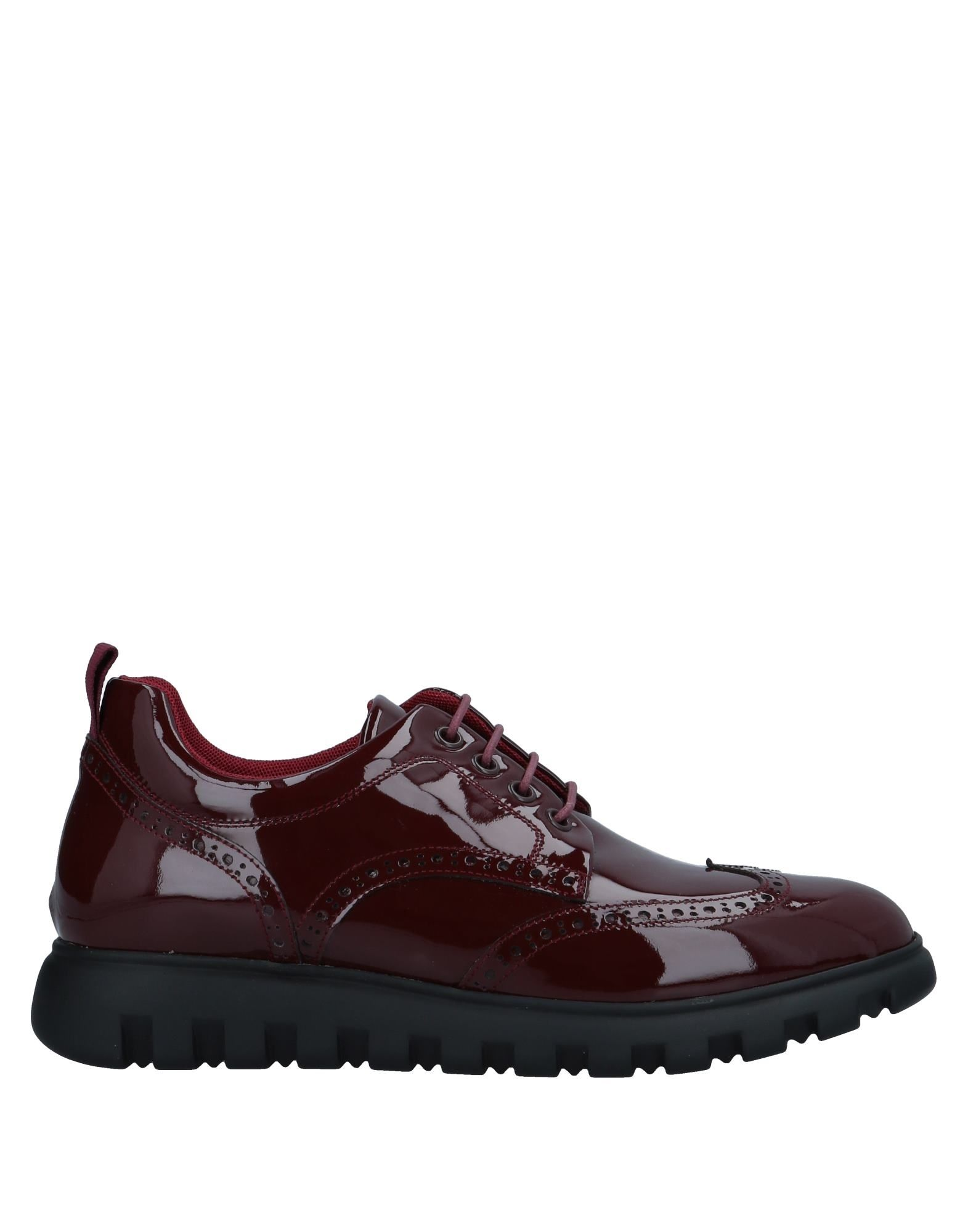 VOILE BLANCHE Sneakers in Maroon