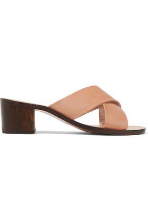 ANCIENT GREEK SANDALS Thais leather mules