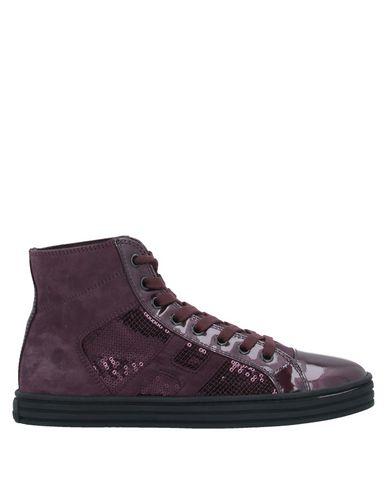 Фото - Высокие кеды и кроссовки от HOGAN REBEL красно-коричневого цвета