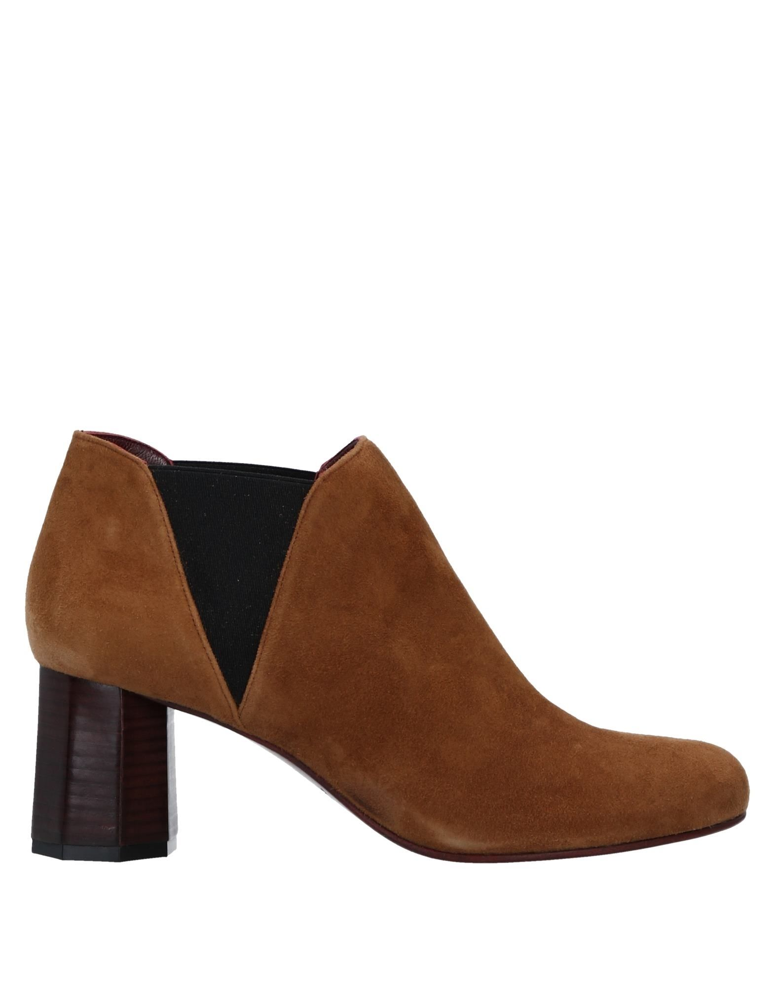 AVRIL GAU Ankle Boots in Camel