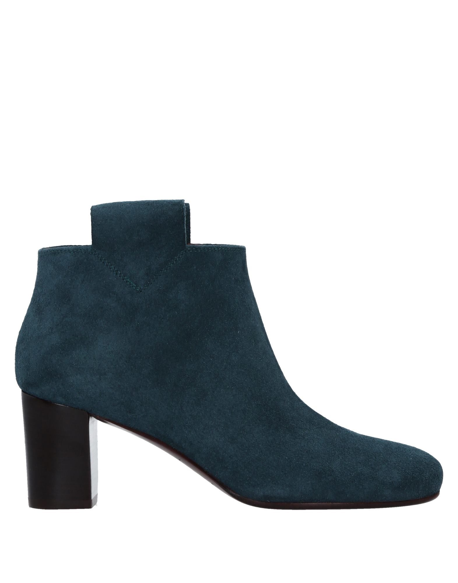 AVRIL GAU Ankle Boots in Deep Jade