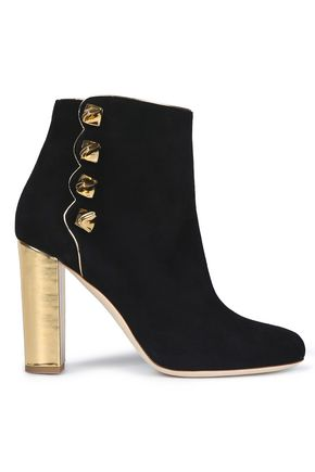 MALONE SOULIERS Suede ankle boots