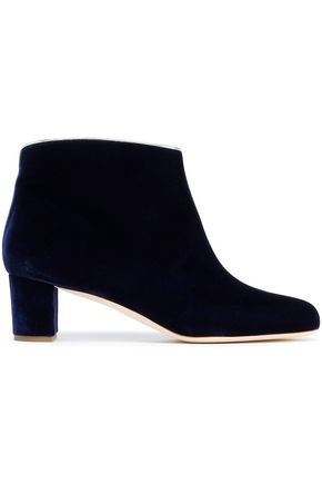 MALONE SOULIERS Velvet ankle boots