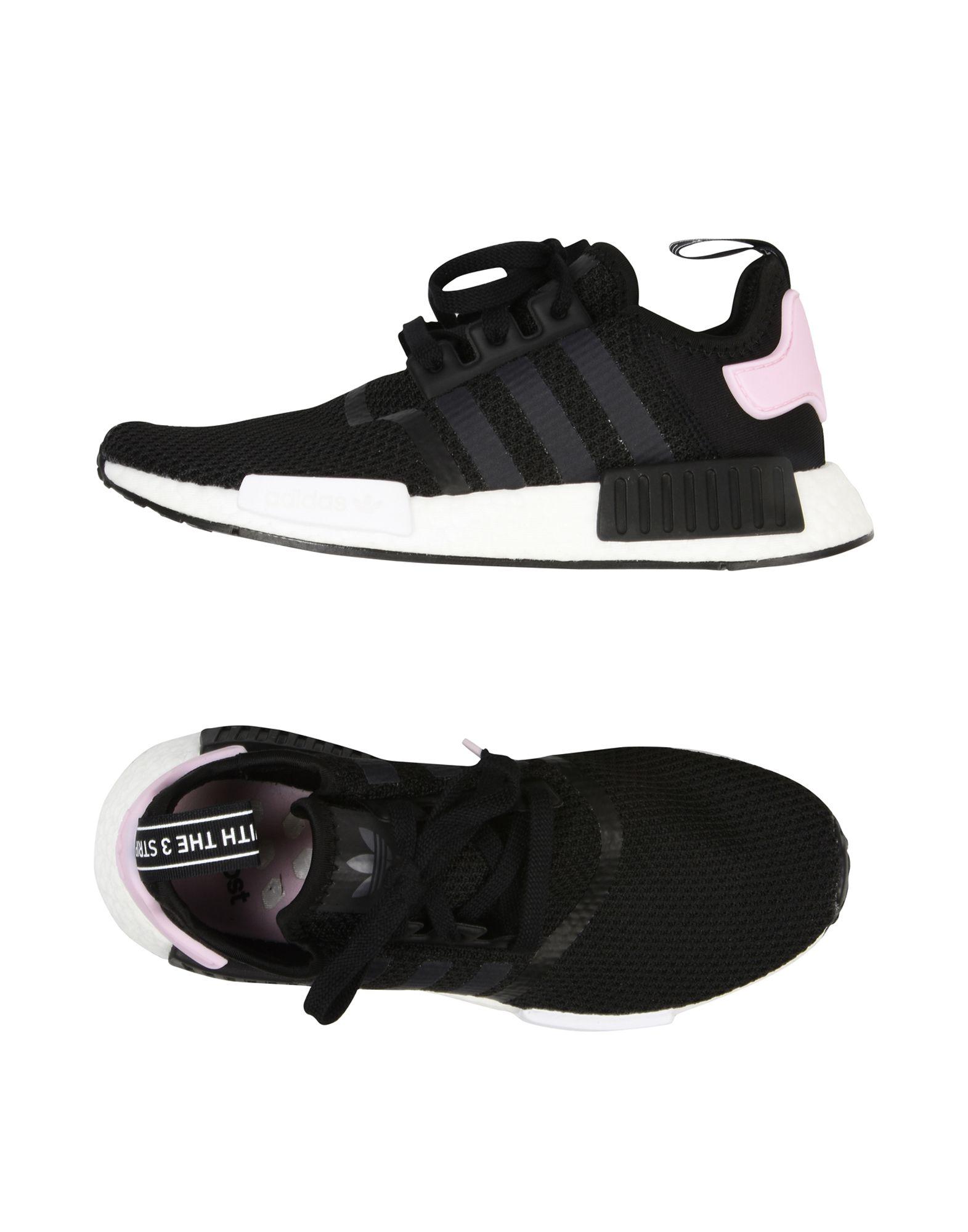 ADIDAS ORIGINALS Низкие кеды и кроссовки adidas originals nmd runner white core black