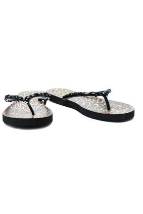 TORY BURCH Embellished PVC sandals
