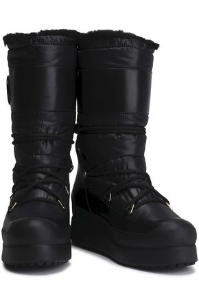 TORY BURCH Shell snow boots