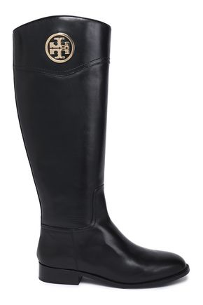 Embellished Leather Boots by Tory Burch