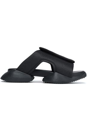 +Adidas Cutout Shell Sandals by Rick Owens X Adidas