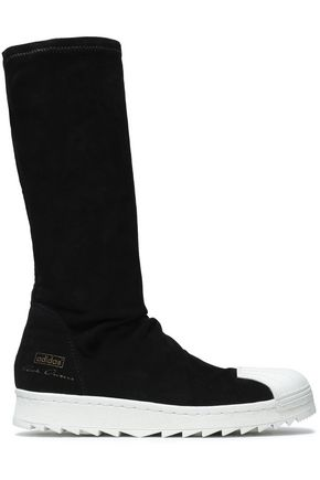 RICK OWENS x ADIDAS Suede sock boots