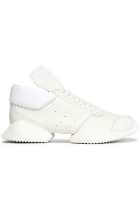 RICK OWENS x ADIDAS +Adidas leather sneakers