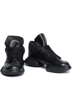 +Adidas Leather Sneakers by Rick Owens X Adidas