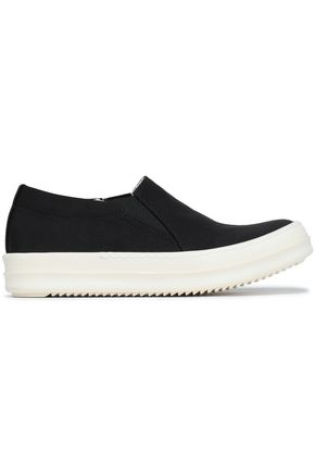 DRKSHDW by RICK OWENS Faille slip-on sneakers