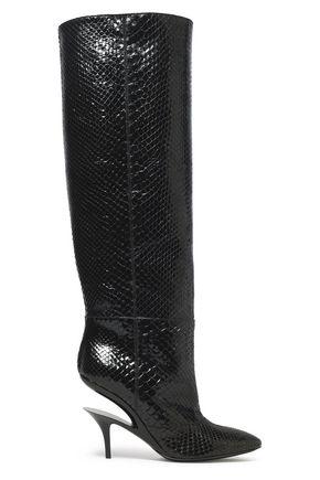 MAISON MARGIELA Python boots