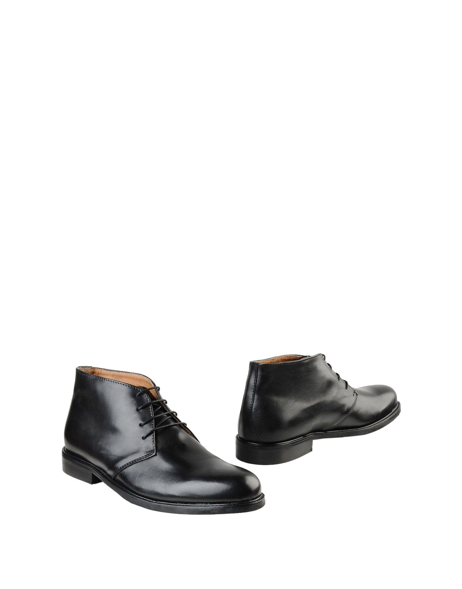 《送料無料》LEONARDO PRINCIPI メンズ ショートブーツ ブラック 40 牛革(カーフ) 100%