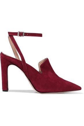 IRIS & INK Alexis suede pumps