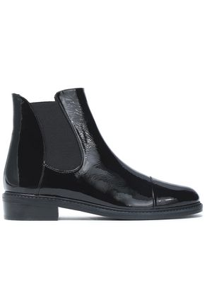 STUART WEITZMAN Gobi patent-leather ankle boots