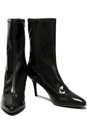STUART WEITZMAN Patent-leather boots