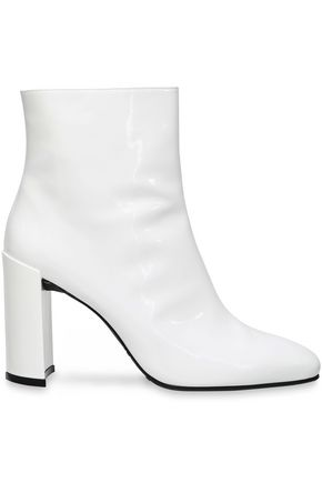 STUART WEITZMAN Patent-leather ankle boots