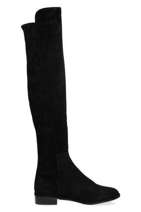 3fc16b8042e STUART WEITZMAN Suede knee boots