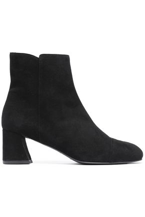STUART WEITZMAN Capitano suede ankle boots