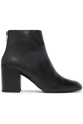 Bacari Leather Ankle Boots by Stuart Weitzman