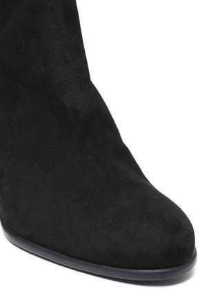 STUART WEITZMAN Suede knee boots