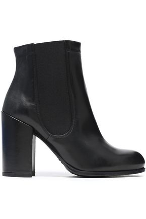STUART WEITZMAN Sidemover leather ankle boots