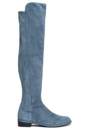 STUART WEITZMAN Allgood suede knee boots