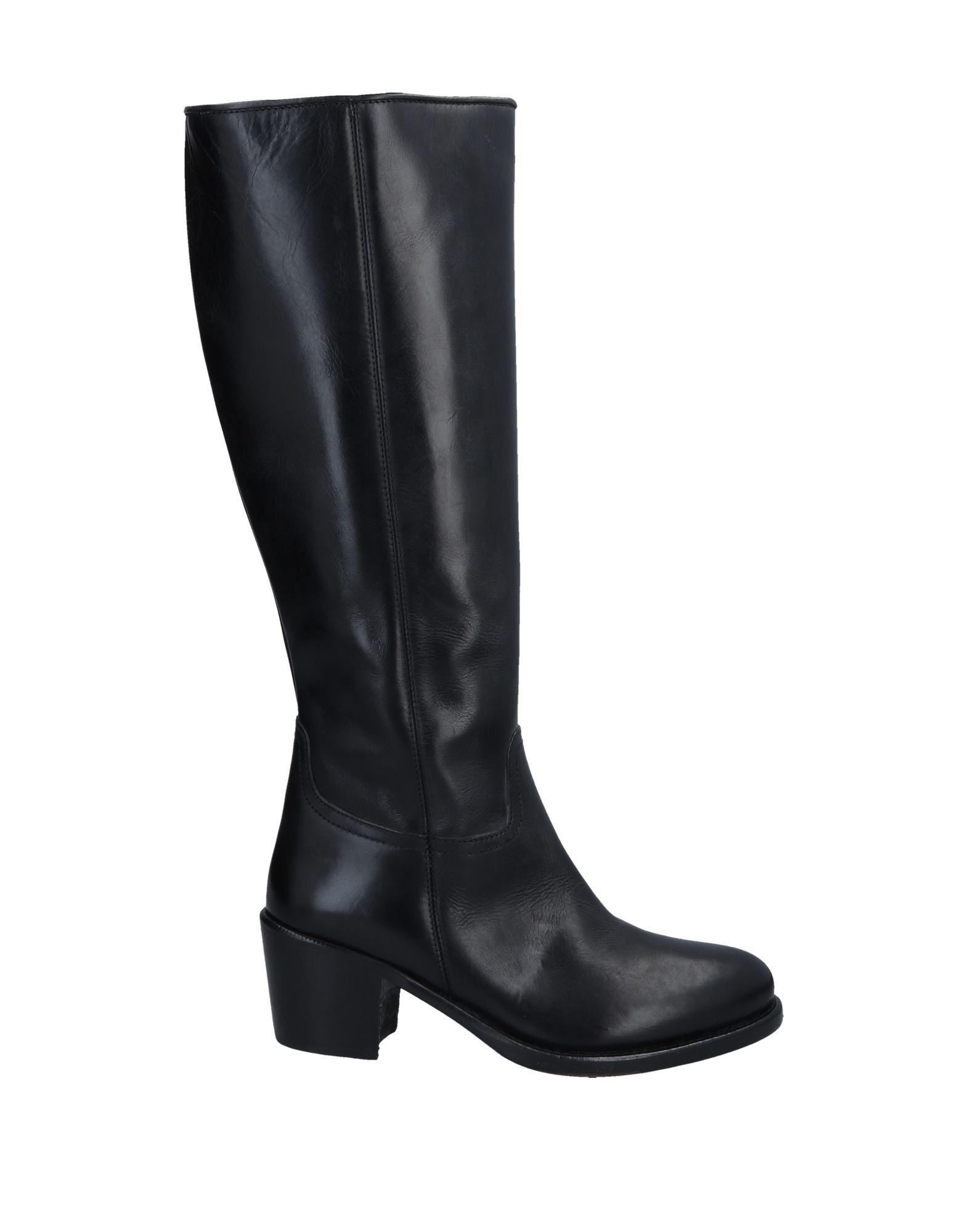 《期間限定セール中》EL CAMPERO レディース ブーツ ブラック 35 牛革(カーフ)